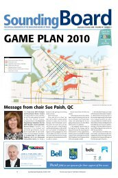 Message from chair Sue Paish, QC - Vancouver Board of Trade