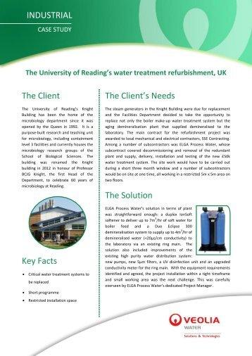 Download case study (PDF) - Elga Process Water