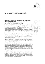 PROJEKTBESKRIVELSE - Ergoterapeutforeningen
