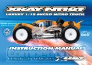 Team XRay NT18T Manual - CompetitionX.com
