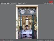 Art Deco Haus    Christophe Ruffio / Hemis - laif agentur für photos ...