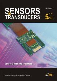 Sensors & Transducers - International Frequency Sensor Association