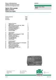 Digitaler Stellungsregler Digital positioner Positionneur ... - Armatec