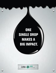 one single drop makes a big impact. - Alberta Used Oil Management ...