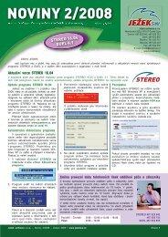 Noviny 2/2008 - Ježek software