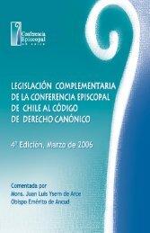 Legislacion Complem para pdf - Conferencia Episcopal de Chile