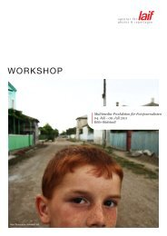 WORKSHOP - laif agentur für photos & reportagen