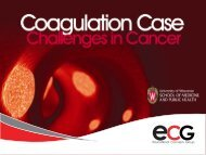The Oncologist and Coagulation - Educational Concepts Group