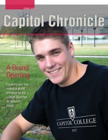 A Brand Opening - Capitol College