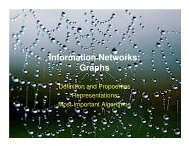 Information Networks: Graphs - schmiedecke.info