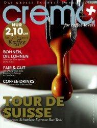 Espressotest im crema Magazin 2012 - Rogalla - Dalla Corte AG