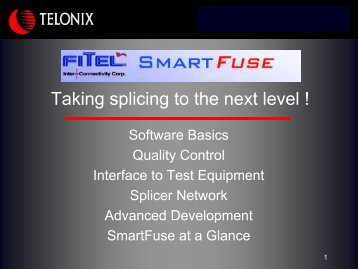Taking splicing to the next level ! - telonix