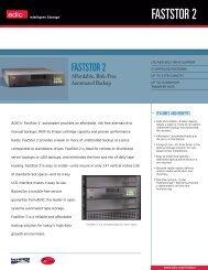 FastStor 2 datasheet - Unylogix Technologies Inc.