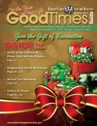 Good Times - Holiday Issue FINAL for Print - Oct ... - Fauquier County