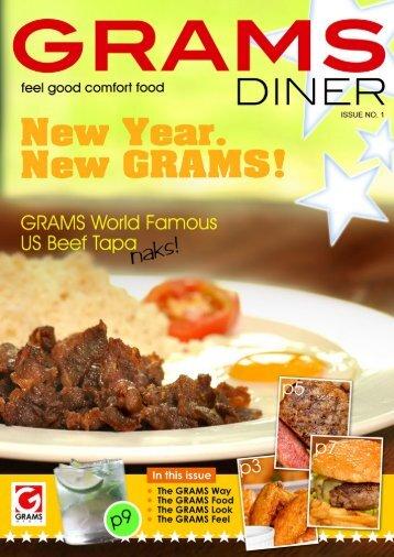 View Menu - GRAMS Diner