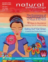 2Over-training. - Natural Awakenings Magazine Charlotte