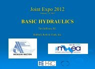 Joint Expo 2012 BASIC HYDRAULICS