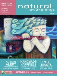 alert pet trusts handmade happiness - Natural Awakenings ...