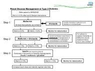 Blood glucose management in type 2 diabetes - NHS Cumbria