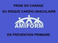 LES FACTEURS DE RISQUE CARDIO-VASCULAIRE (RCV)