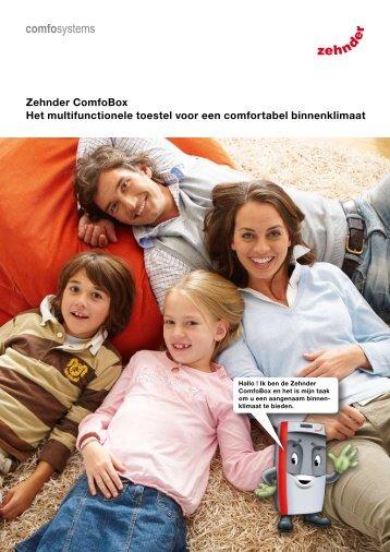 Zehnder ComfoBox Het multifunctionele toestel voor ... - Architectura