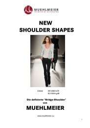 NEW SHOULDER SHAPES MUEHLMEIER