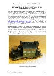 digitalizacion de una locomotora br 98.3 glaskasten de roco