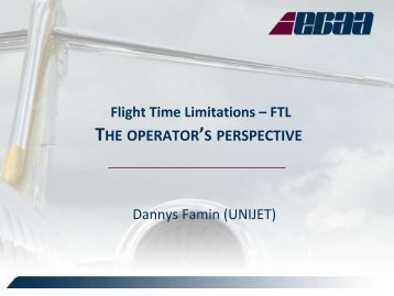 THE OPERATOR'S PERSPECTIVE (369 KB, PDF) - eBace