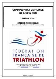 CHAMPIONNAT DE FRANCE DE BIKE & RUN