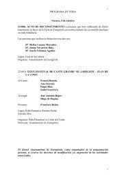 programa feria y fiestas del rosario 2012 - Ayuntamiento de Fuengirola