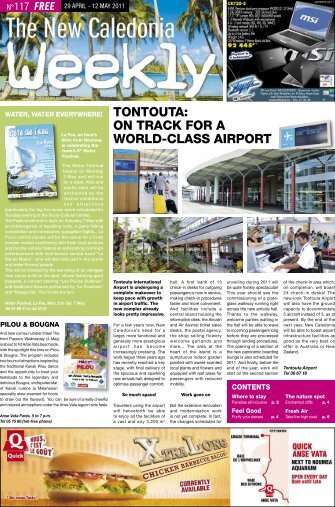 TONTOUTA: ON TRACK FOR A WORLD-CLASS AIRPORT