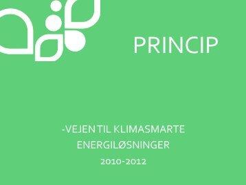 Energieffektivisering - Energi PRINCIPS