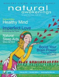 Special Edition - Natural Awakenings Magazine Charlotte
