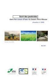 Suivi des pesticides dans les cours d'eau du bassin Rhin-Meuse