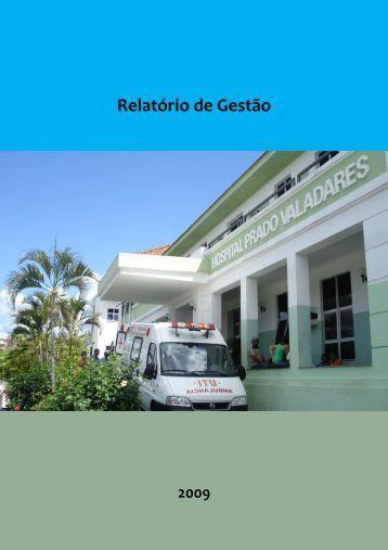 Relatório de Gestão 2009 - Sesab - Governo da Bahia