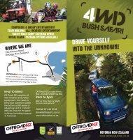 to download Off Road NZ's 4WD Bush Safari Brochure