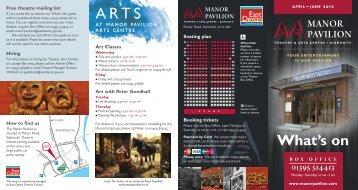 Art - Manor Pavilion Sidmouth