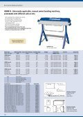 HSBM 610 HS and 1020-10 - Manual swivel bending ... - DMK - Page 4