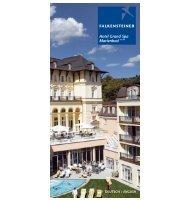 Hotelinformation - Falkensteiner Hotel Grand Spa Marienbad