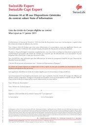 SwissLife Expert SwissLife Capi Expert - Haussmann Patrimoine
