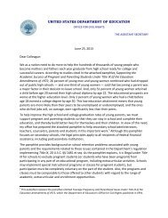 Dear Colleague Letter - National Association of College and ...