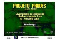 Projeto PANAMAZÔNIA II - INPE/OBT/DGI