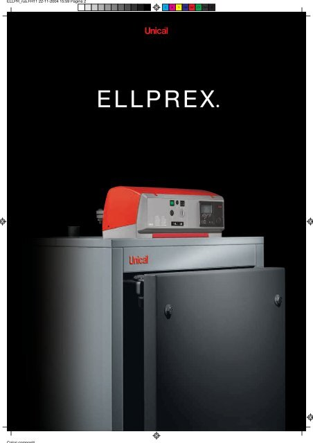 Unical - Стальные котлы под вентиляторную горелку ELLPREX