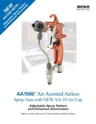 AA1500™Air Assisted Airless
