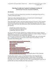1 Operating Procedures for Standards Coordinating Committee 18 ...