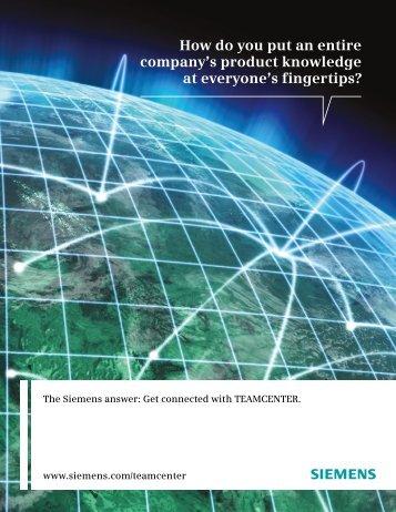Teamcenter Overview Brochure - ATA Engineering