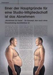 Einer der Hauptgründe für eine Studio ... - Trainer Promotion