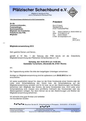 PDF Datei - Pfälzischer Schachbund