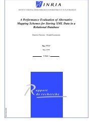 A Performance Evaluation of Alternative Mapping Schemes for ...