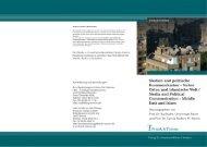 Herausgegeben von Prof. Dr. Kai Hafez, Universität ... - Frank & Timme